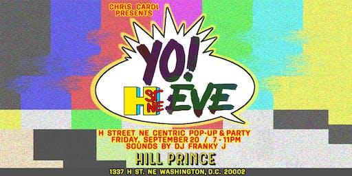 CHRiS CARDi PRESENTS THE 3rd ANNUAL H STREET EVE CHRiS CARDi POP-UP & PARTY