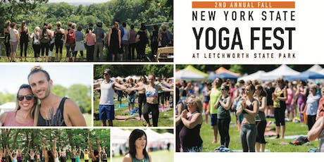 2nd Annual Fall NYS Yoga Festival at Letchworth State Park  tickets
