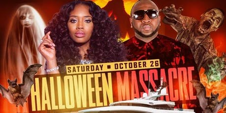 "10/26 - ""YANDY SMITH"" -LOVE & HIP HOP- VIP Halloween Yacht Party w/ BUFFET tickets"