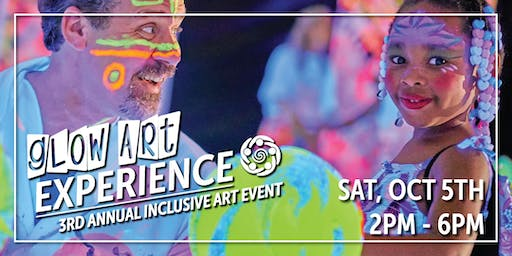3rd Annual Glow Art Experience (Inclusive Art Event by Bolinbrook Arts Council)