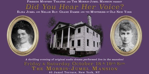 Halloween Audio Drama in a Historic Haunted Mansion