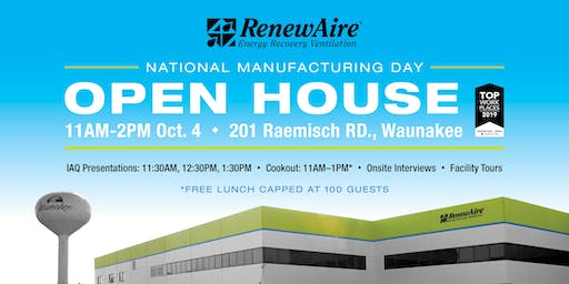 Manufacturing Day at RenewAire