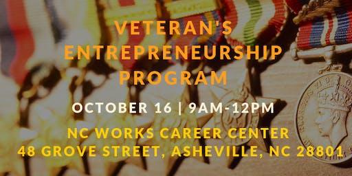 Veteran's Entrepreneurship Program (October)