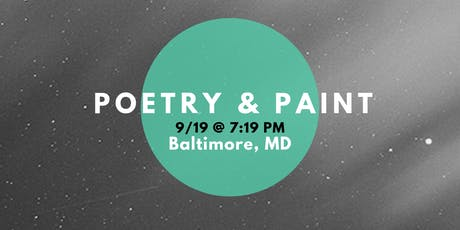 Poetry & Paint (A Happy Hour @ Baltimore's Best Art Gallery) tickets