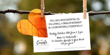 Fall Wellness Make + Take w/Essential Oils tickets
