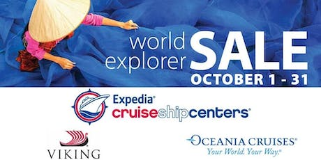 World Explorer Event - Expedia CruiseshipCenters Richmond tickets