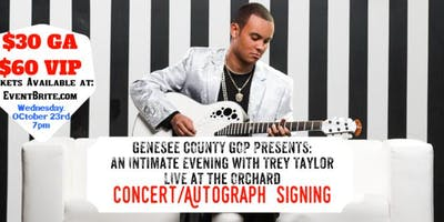 Genesee GOP Presents: An Evening w/Trey Taylor Live at the Mueller Orchard