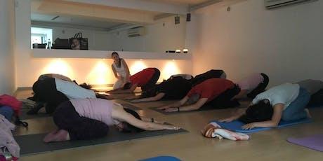 Workshop de Yoga com Óleos Essenciais - Criar Alicerces billets