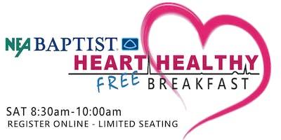 NEA Baptist Memorial Hospital HEALTHY HEART Breakfast at the Women's Expo