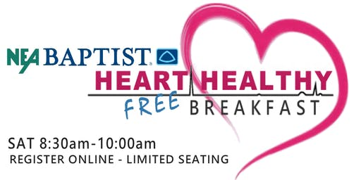 NEA Baptist Memorial Hospital HEALTHY HEART Breakfast at the Women's Expo