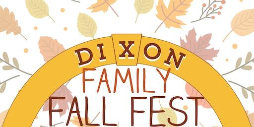 Dixon Family Fall Fest