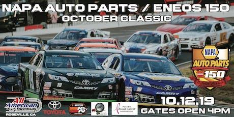 NAPA AUTO PARTS / ENEOS 150 October Classic tickets