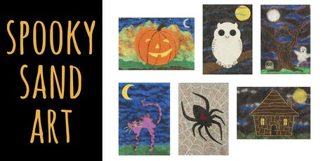 Spooky Sand Paintings tickets