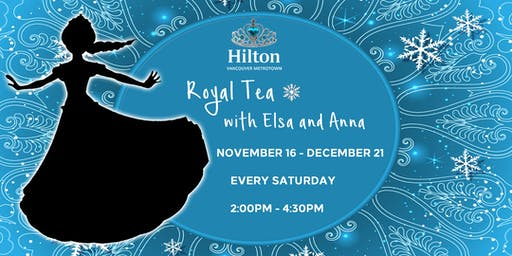 Royal Tea with Elsa and Anna