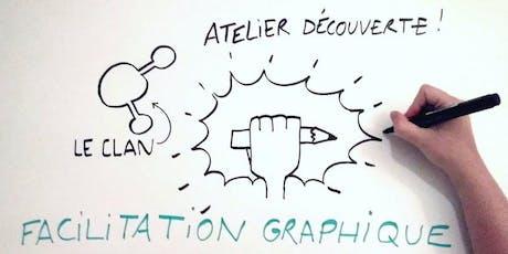 Atelier découverte de la facilitation graphique billets