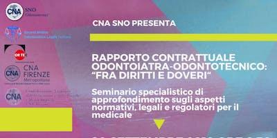 """Rapporto contrattuale odontoiatra-odontotecnico:""""fra diritti e doveri"""""""