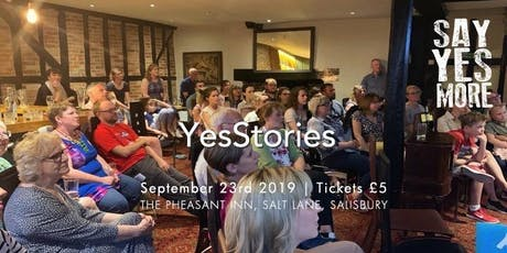 YesStories - Salisbury - 23rd Sept 2019 tickets