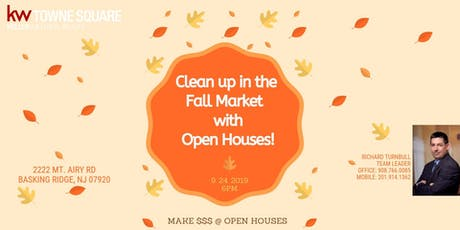 Clean Up This Fall with OPEN HOUSES tickets