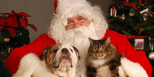 Pet Photos with Santa & Mrs. Claus