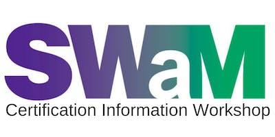 SWaM Certification Information Workshop (October 2019)