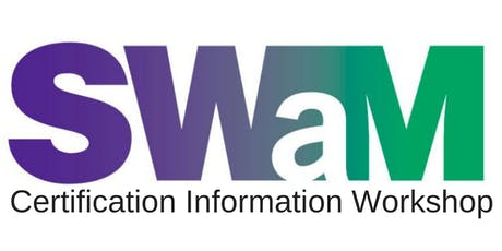 SWaM Certification Information Workshop (October 2019) tickets