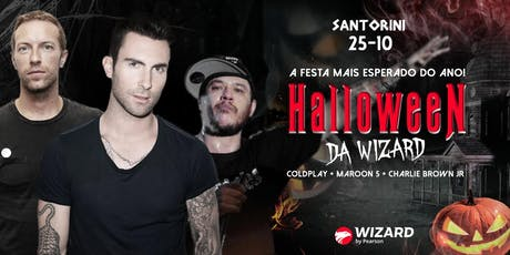Halloween Da Wizard! (Coldplay + Maroon 5 + Charlie Brown) ingressos