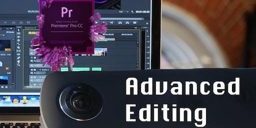 Advanced Editing in Adobe Premiere 10/22 & 10/29