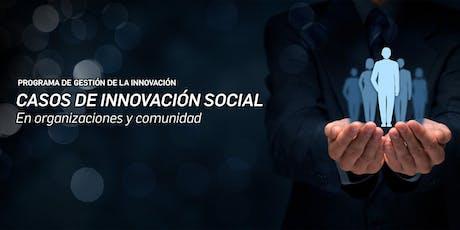 CASOS DE INNOVACIÓN SOCIAL (en Organizaciones y comunidad) entradas