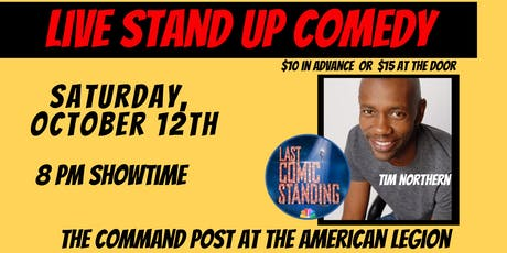 Live Stand Up Comedy: Tim Northern in Troy, IL tickets