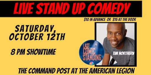 Live Stand Up Comedy: Tim Northern in Troy, IL