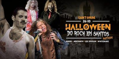 Halloween do Rock em Santos: (Fantasia!) - Queen + Aerosmith + Led Zeppelin + Whitesnake