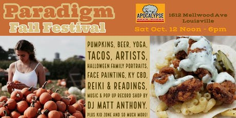 Paradigm Fall Festival tickets