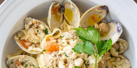 Italian Seafood Fare - Cooking Class by Cozymeal™ tickets