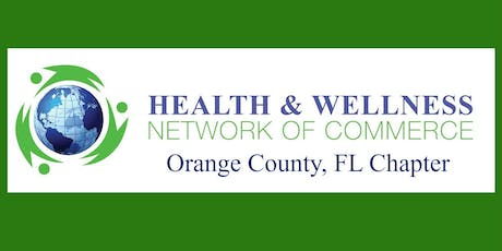 Orange County, FL Health and Wellness Network of Commerce B2B/B2C  tickets