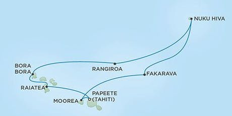 10-day French Polynesia Winemaker Cruise / Legends to Lagoons tickets