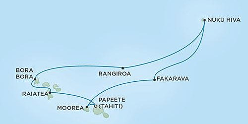 10-day French Polynesia Winemaker Cruise / Legends to Lagoons