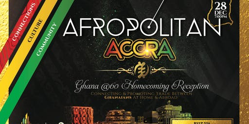 AfropolitanAccra (Marquee Edition) -  Largest Cultural Mixer & Party Across 8 Cities in The US Now Launching In Ghana In December