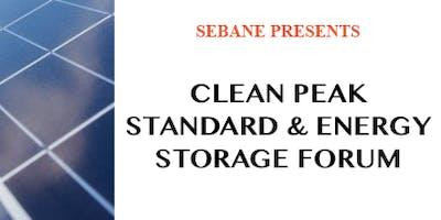 Clean Peak Standard & Energy Storage Forum