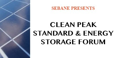 Clean Peak Standard & Energy Storage Forum