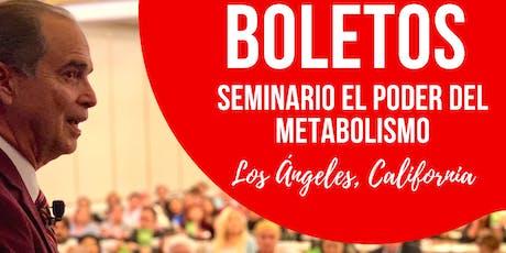 SEMINARIO EL PODER DEL METABOLISMO CON FRANK SUÁREZ EN LOS ANGELES (Español) tickets