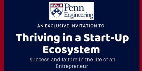 Thriving in a Start-Up Ecosystem tickets