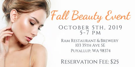 Fall Beauty Event tickets