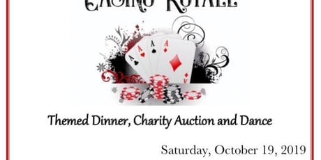 Casino Royale Themed Dinner, Charity Auction & Dance tickets