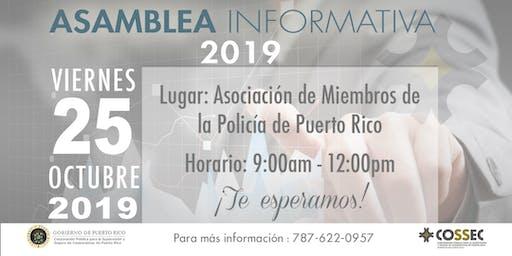 Asamblea Informativa COSSEC 2019