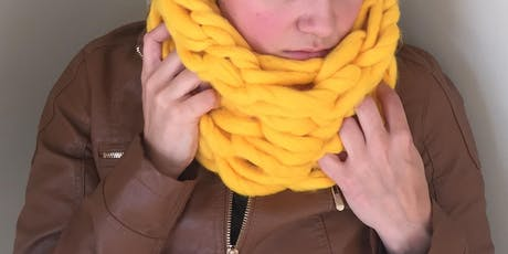 Arm Knitted Infinity Scarves tickets