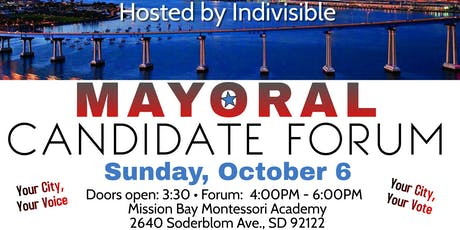 Indivisible Mayoral Forum - Come meet the candidates! tickets