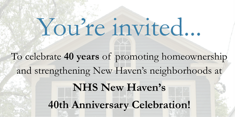 NHS New Haven 40th Anniversary Celebration tickets