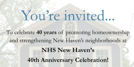 NHS New Haven 40th Anniversary Celebration