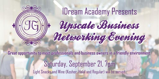 Upscale Business Networking Evening