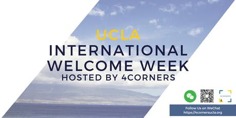 UCLA International Student Welcome Week tickets